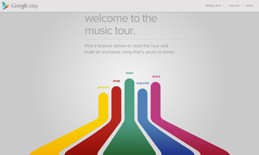 Google Play Music Tour