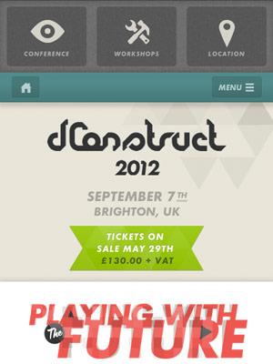 dConstruct 2012