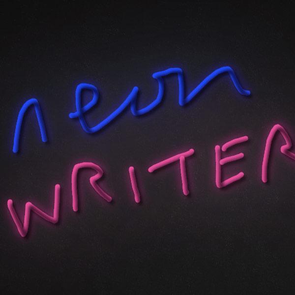 Neon writer